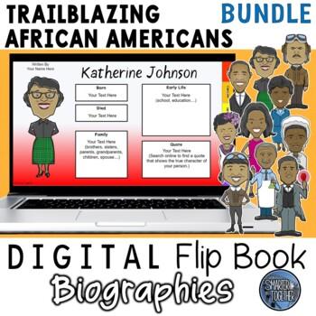 Black History Month Digital Biography Template Bundle