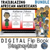 Black History Month Digital Biography Template Pack