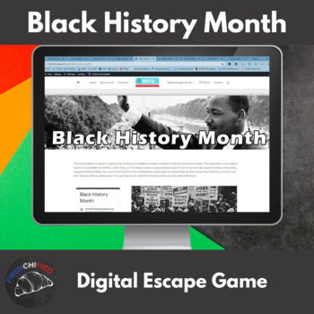 Black History Month - Digital Breakout Game
