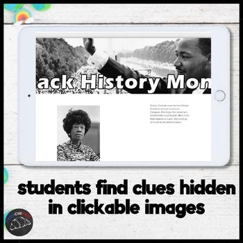Digital Escape - Black History Month