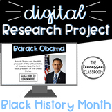Black History Month Digital Research Project