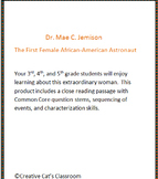 Black History Month: Dr. Mae Jemison