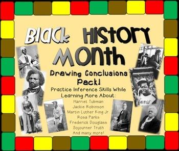 Black History Month: Drawing Conclusions Bundle + Bonus MLK!