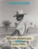 Black History Month: Early 1900's Photo Book and Follow-Up Activity FREE!