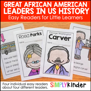 Black History Month Activities:  Easy Readers