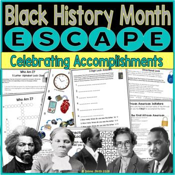 Black History Month Escape Room / Lockbox