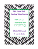 Black History Month Expository Writing Bundle 29 Prompts S
