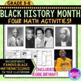Black History Month: FOUR Math Activities Bundle!