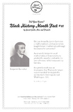 Black History Month Fact #11 Character Education Activity