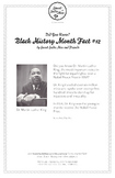Black History Month Fact #12 Character Education Activity Resource