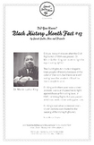 Black History Month Fact #13 Character Education Activity Resource