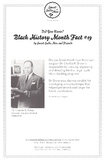 Black History Month Fact #19 Character Education Activity Resource