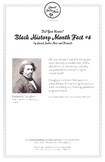 Black History Month Fact #6 Character Education Activity Resource