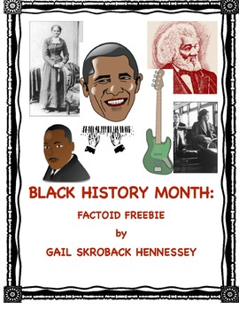 Black History Month: Factoids(Interactive Notebook Activity)
