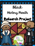 Black History Month {Research Project and Writing Prompts}