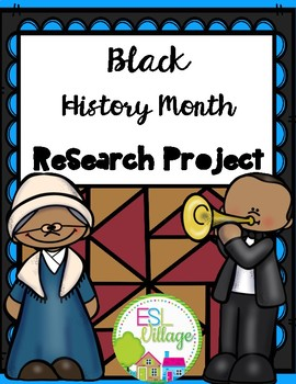 Black History Month {Research Project}