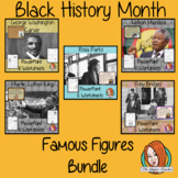 Black History Month Famous People PowerPoint and Worksheet