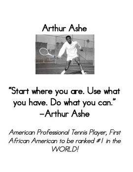 Black History Month Famous Quotes & Fast Facts!