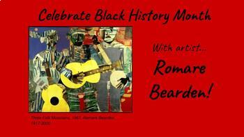 Black History Month, February, Bulletin Board, Romare Bearden, Art