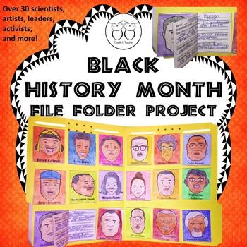 Black History Month File Folder Project