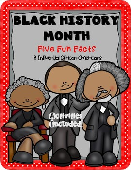 Black History Month Five Fun Facts Activities