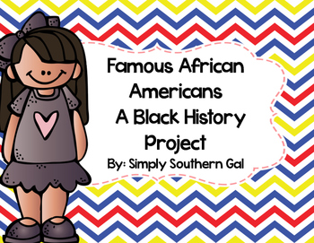 Black History Month Foldable