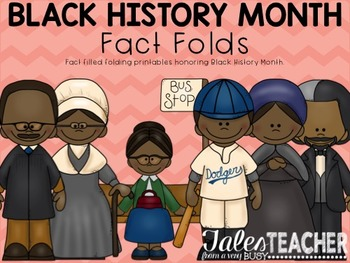 Black History Month {Foldable Facts}