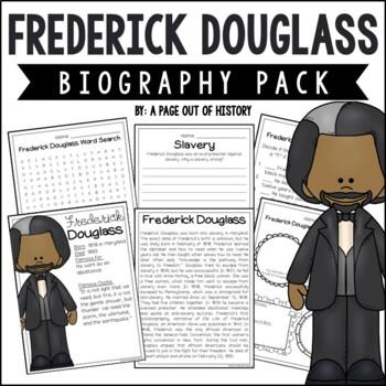 Frederick Douglass Biography Pack (Black History Month)