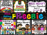 Black History Month Freebie!