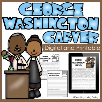 George Washington Carver - FREE Black History Month Activities