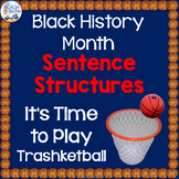 Black History Month Grammar Game - Sentence Structures