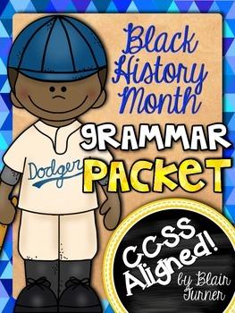Black History Month Grammar Packet