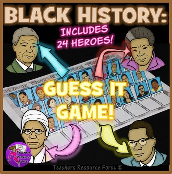 Black History Month: Guess The Hero Game