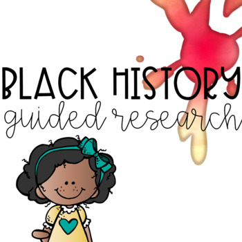 Black History Month Guided Research Project