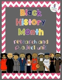 Black History Month Guided Research and Measurement Projec