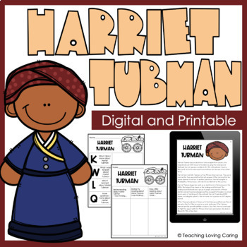 Black History Month Harriet Tubman