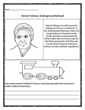 Black History Month: Harriet Tubman, Underground Railroad