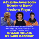 African-American Heroes Brochure (Black History Month) Wri
