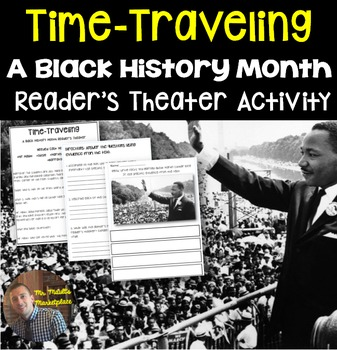 Black History Month INTERACTIVE Activity BUNDLE: Grades 3-5
