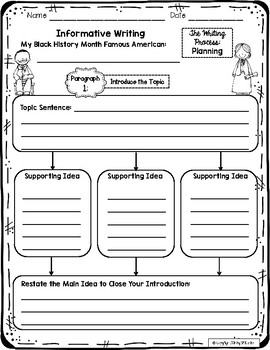 Black History Month Informative Writing