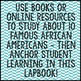 Black History Month Interactive Lapbook Project