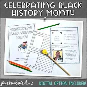 Black History Month Journal
