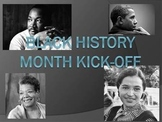 Black History Month Kick Off