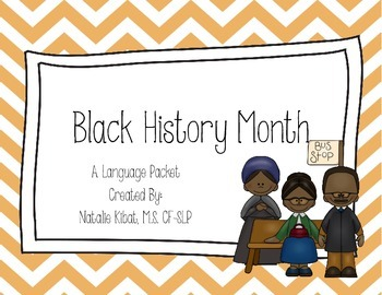Black History Month Language Packet