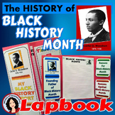 Black History Month Lapbook Structured Opinion Writing