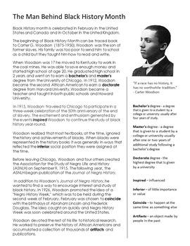 Black history month essays