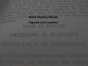 Black History Month Leaders