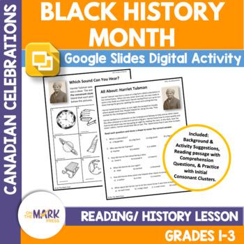 Black History Month Lesson Plan