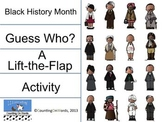 Black History Month: Lift the Flap, Guess the Famous American