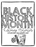 Black History Month Listening Activity #1